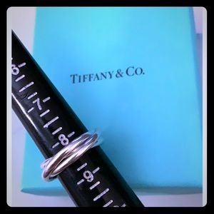 Tiffany and Co triple Interlocking bands